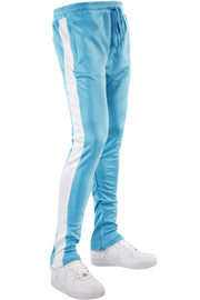 One Stripe Track Pants Light Blue (100-402) - Zamage