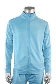 One Stripe Track Jacket Light Blue (100-502)