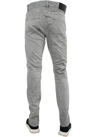 Jordan Craig Slim Fit Moto Twill Denim Light Grey (JM3243 22S) - Zamage