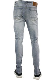 Ripped Skinny Fit Denim Light Blue (M4577D)