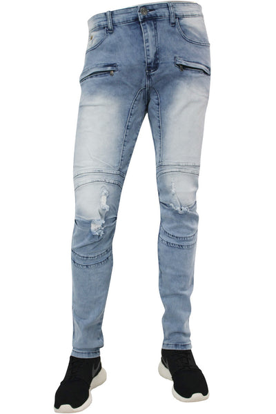 Skinny Fit Denim Light Blue (AOM4495D)