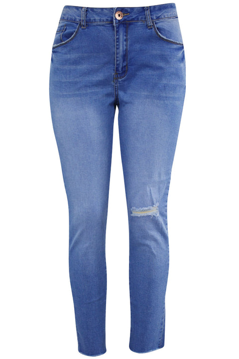 Women's Lifter Slim Fit Denim Royal Blue (WA42671D)