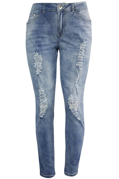 Women's Lifter Slim Fit Denim Light Wash (WA42672D)