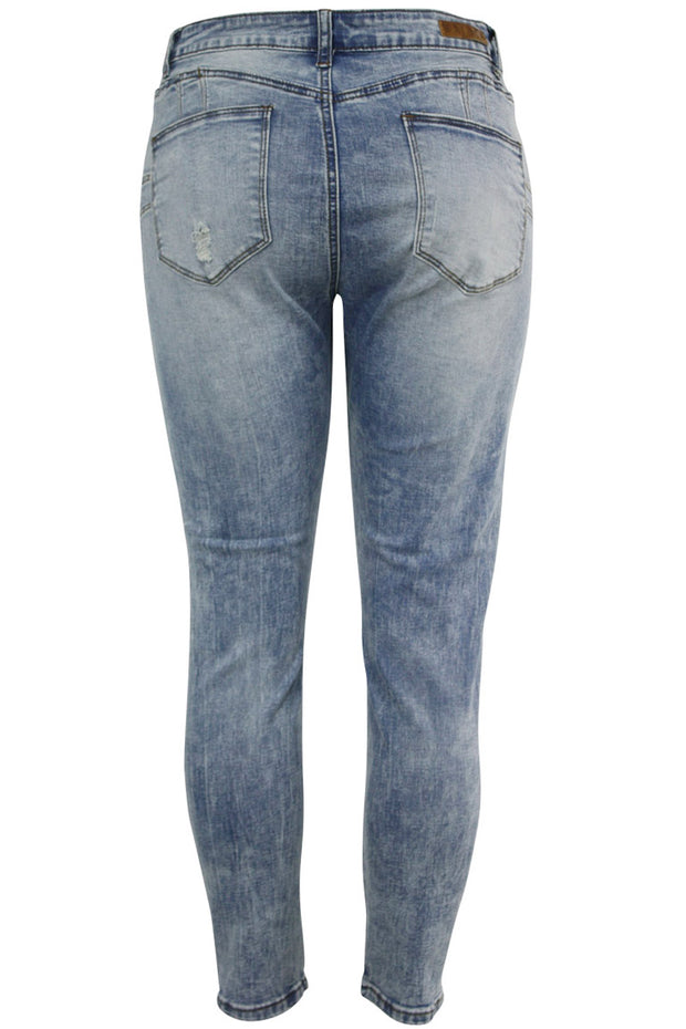 Women's Lifter Slim Fit Denim Sky Blue (WA42667D)