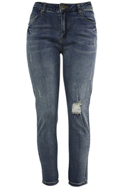 Women's Lifter Slim Fit Denim Dirty Vintage (WA42667D) - Zamage