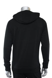 Jordan Craig Embroidered Bear Pullover Hoodie Black (8422H)