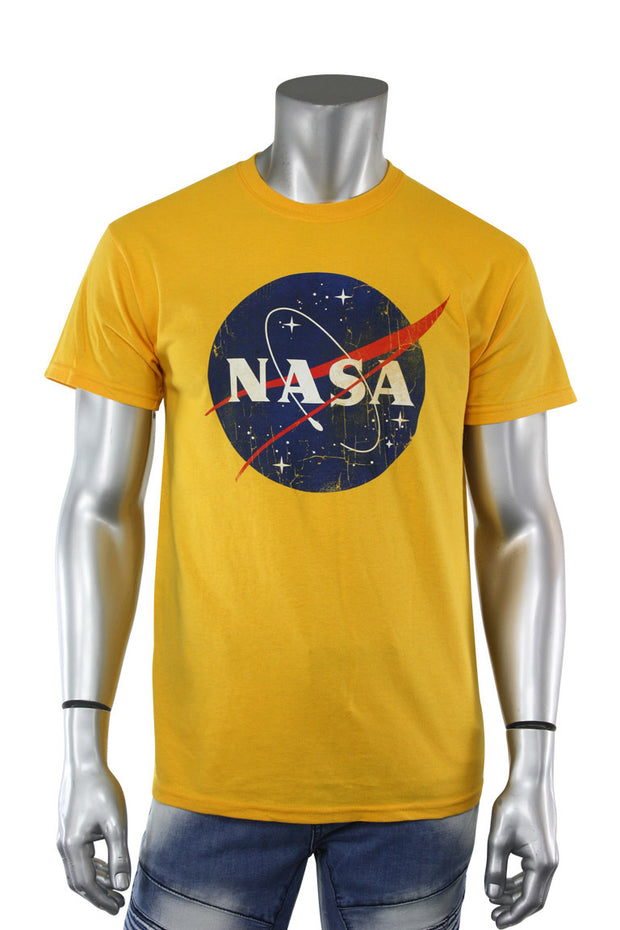 Nasa Space Tee Yellow (NASA 22S)