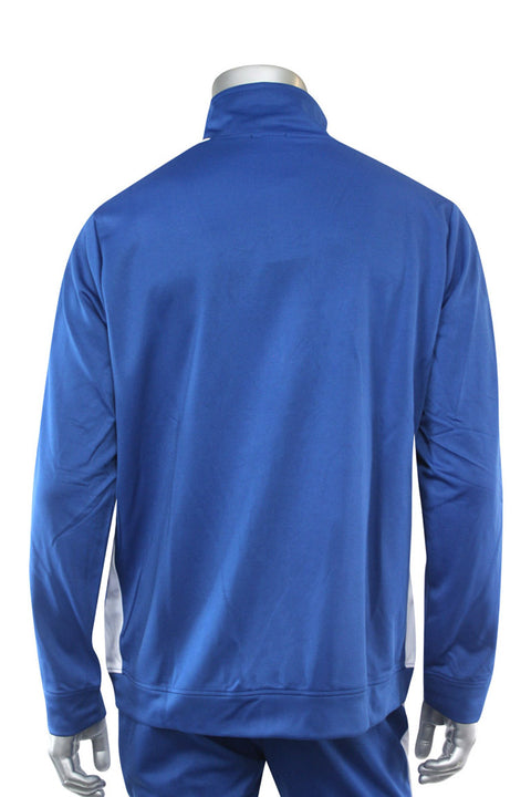 Premium Side Stripe Track Jacket Royal Blue - White (ZCM4420Z) - Zamage