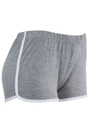 Women's Striped Shorts Heather Grey (PS31)