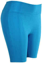 Women's Bermuda Shorts Blue (LG902) - Zamage