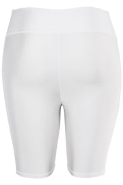 Women's Bermuda Shorts White (LG902) - Zamage