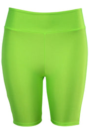Women's Bermuda Shorts Neon Green (LG902)