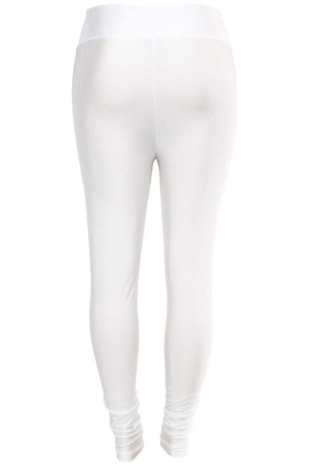 Women's High Waisted Leggings White (LG901)