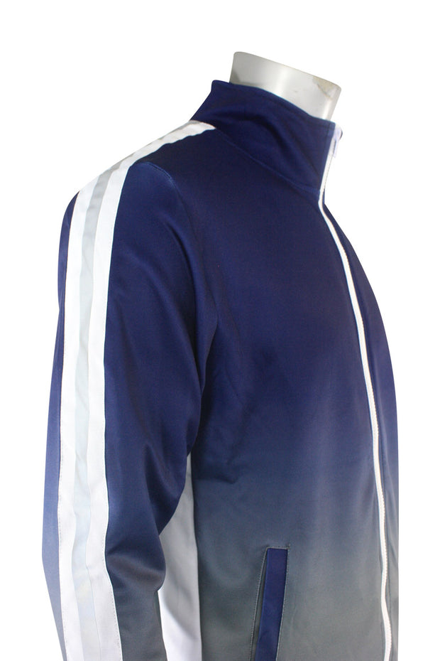 Ombre Track Jacket Navy (111-512) - Zamage