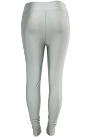 Women's High Waisted Leggings Silver (LG901)