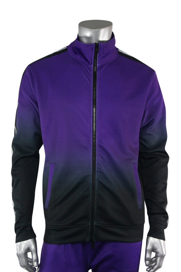 Ombre Track Jacket Purple (111-512) - Zamage