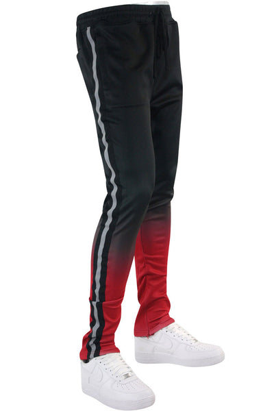 Ombre Track Pants Black (111-412) - Zamage