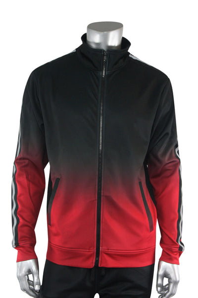 Ombre Track Jacket Black (111-512) - Zamage