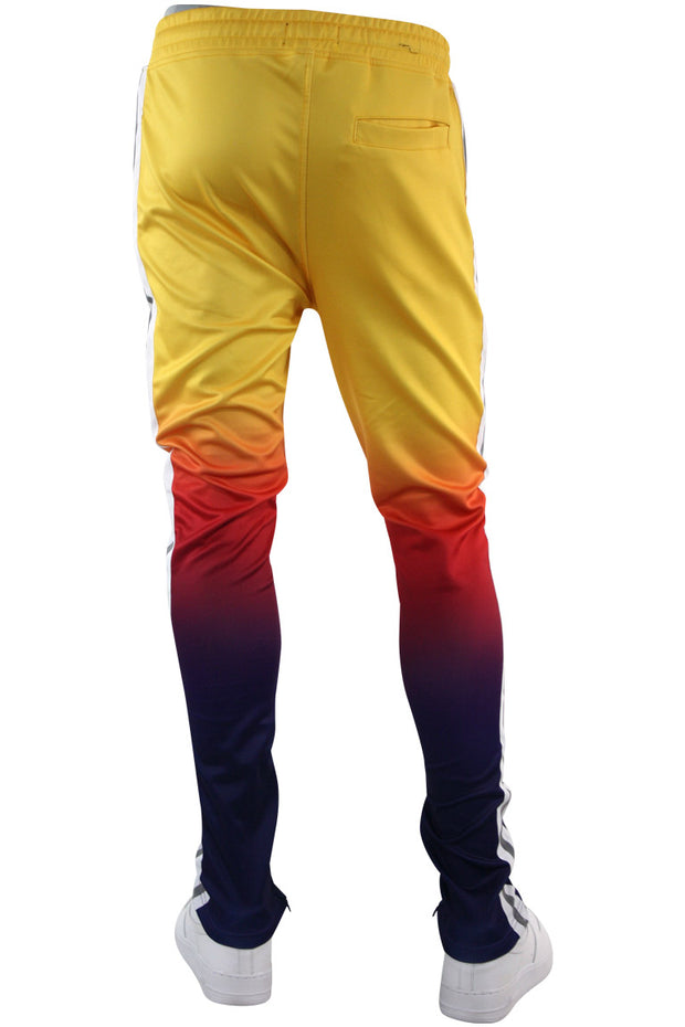 Ombre Track Pants Yellow (111-412) - Zamage