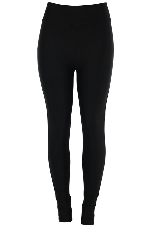 Women's High Waisted Leggings Black (LG901)