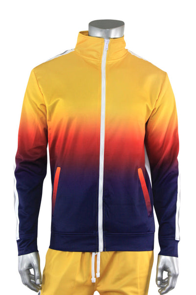 Ombre Track Jacket Yellow (111-512) - Zamage