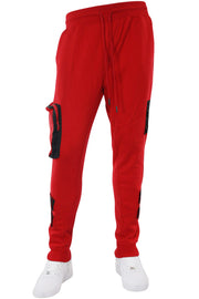 Tactical Fleece Jogger Red (192-465) - Zamage