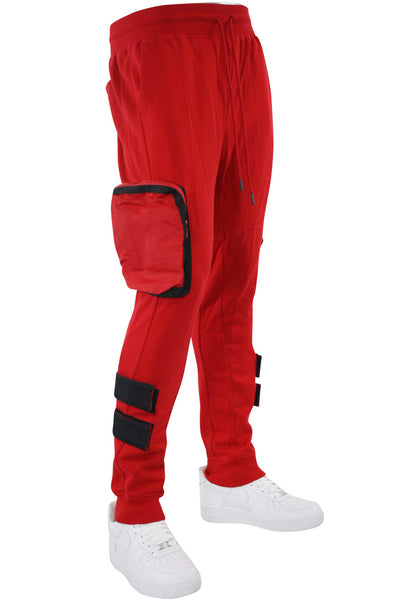 Tactical Fleece Jogger Red (192-465)