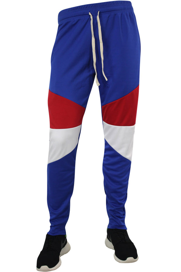 Color Block Track Pants Royal Blue (19710) - Zamage