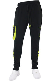Tactical Fleece Jogger Black (192-465)
