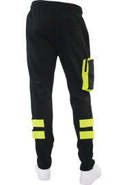 Tactical Fleece Jogger Black (192-465) - Zamage