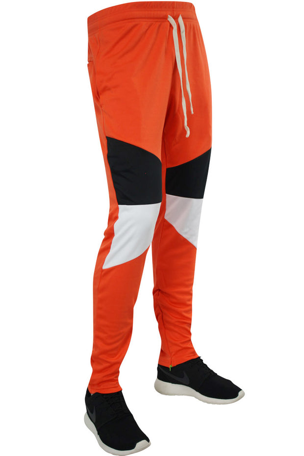 Color Block Track Pants Orange (19710) - Zamage