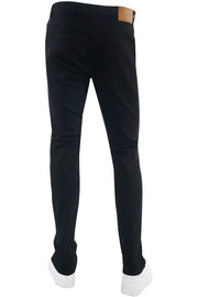 Verbiage Skinny Fit Denim Black - Bronze (M5020D) - Zamage