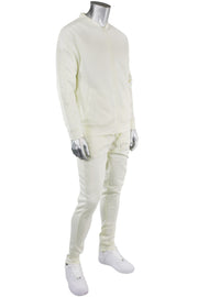 Solid Track Jacket Cream (100-500)