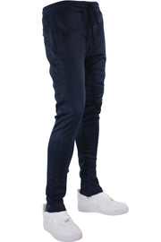 Solid Track Pants Navy (100-400) - Zamage