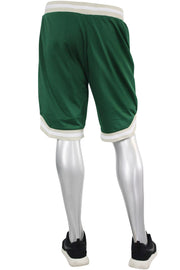 Solid Taping Mesh Shorts Hunter Green (191-920)