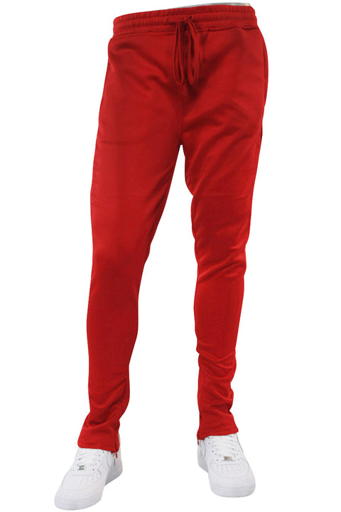 Solid Track Pants Red (100-400) - Zamage