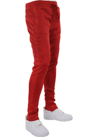 Solid Track Pants Red (100-400)