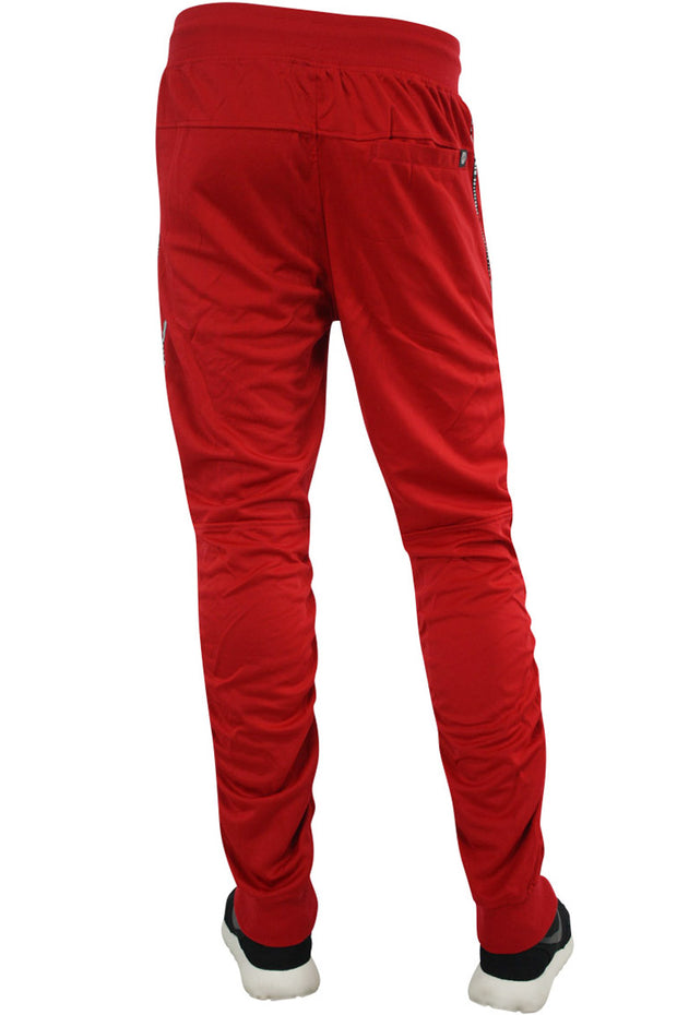 Shirred Leg Joggers Red (SS8408)