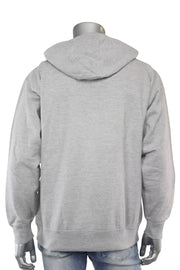 Paid In Full Chenille Hoodie Heather Grey (1010HC) - Zamage