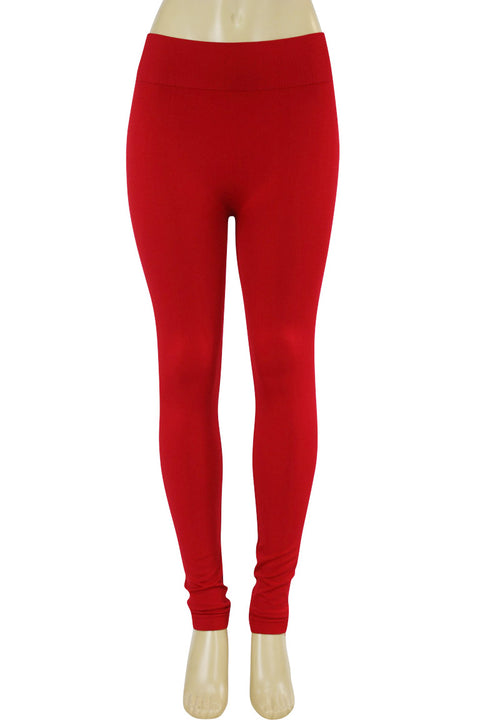 Solid Leggings Red (ZMONEY300)