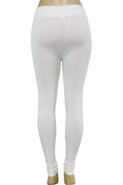 Solid Leggings White (ZMONEY300)