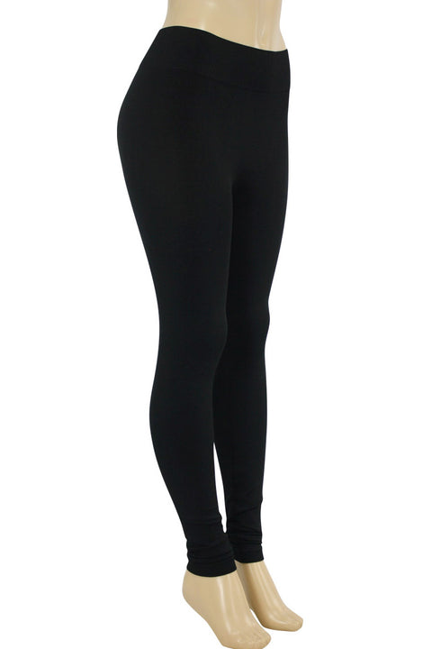 Solid Leggings Black (ZMONEY300)