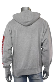 Self Made Savage Hoodie Heather Grey (9157H)