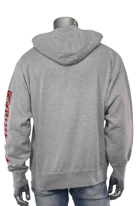 Self Made Savage Hoodie Heather Grey (9157H) - Zamage