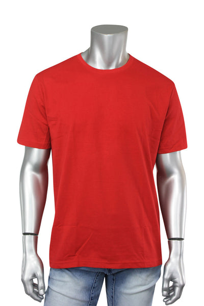 Crew Neck Tee Red (RCR) - Zamage