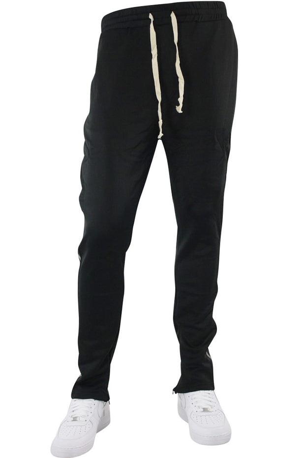 Double Stripe Track Pants Black - Black (HF9624)
