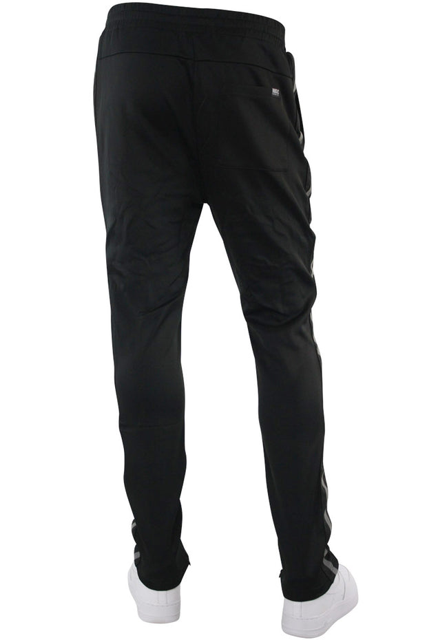 Double Stripe Track Pants Black - Black (HF9624) - Zamage