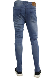 Moto Skinny Fit Denim Blue Wash (M4493DB)