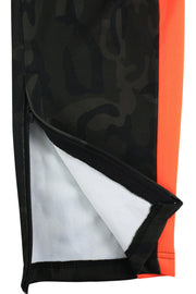 Premium Side Stripe Zip Pocket Track Pants Camo - Orange (ZCM4418Z)