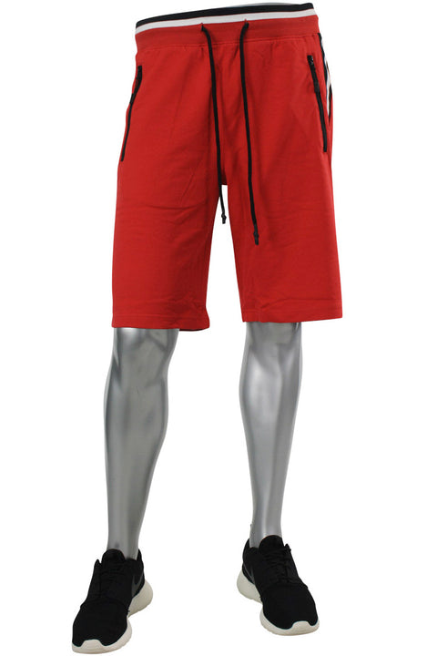 Jordan Craig Ribed Shorts Red (8993S 22S)
